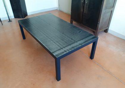 table-basse-salon-acier