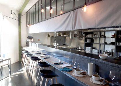 Comptoir restaurant poulpette