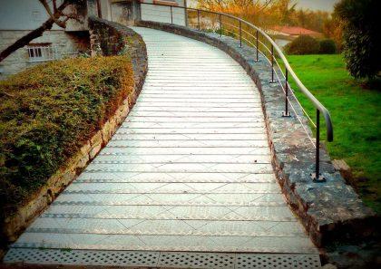 Garde-corps, rampe d'escalier